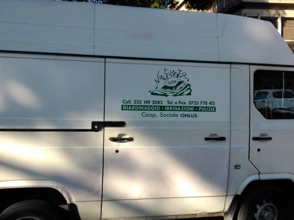 furgone della coop.